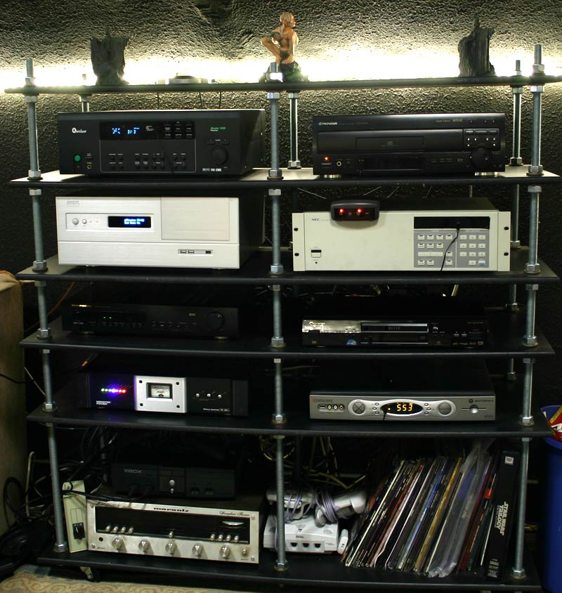 Diy home theater rack