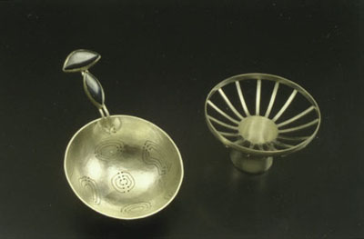 tea strainer open