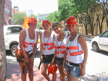 construction girls