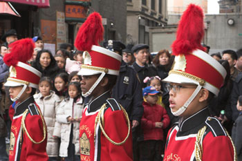 kid marching band