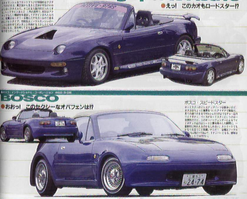 Mazda Miata Body Kits Moes Miata